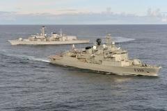 HMS Portland in Lisbon