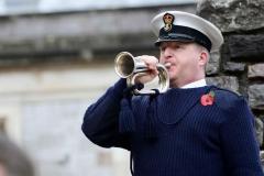 Armistice Day service RN Devonport
