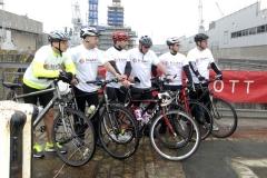 HMS Scott charity ride