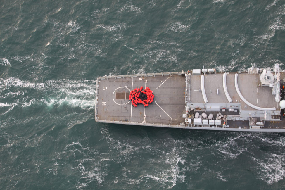 Warship Hms Somerset Launches Poppy Appeal Just Plymouth