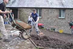 RN medics gardening