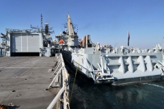 HMS Montrose and RFA Diligence