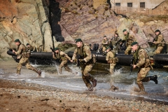 Royal Marines exercise in Cornwall