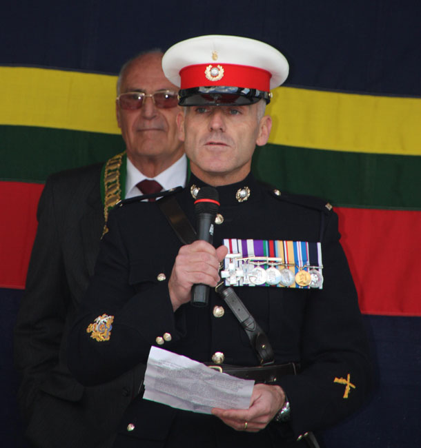Warrant Officer First Class Marine Matt Tomlinson