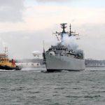 HMS Chatham's Final Homecoming