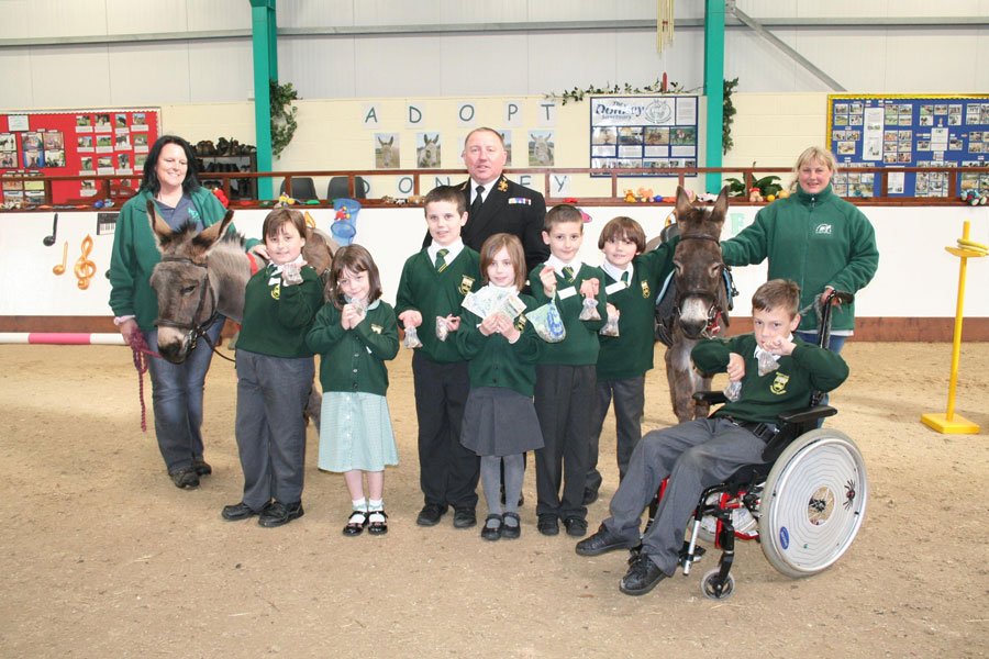 Royal Navy Supports Riding Charity