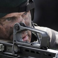 An action-packed training exercise featuring Royal Marines