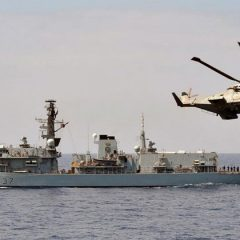 Culdrose squadron on exercise off French coast