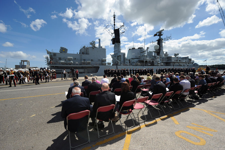 The decommissioning of HMS Cornwall