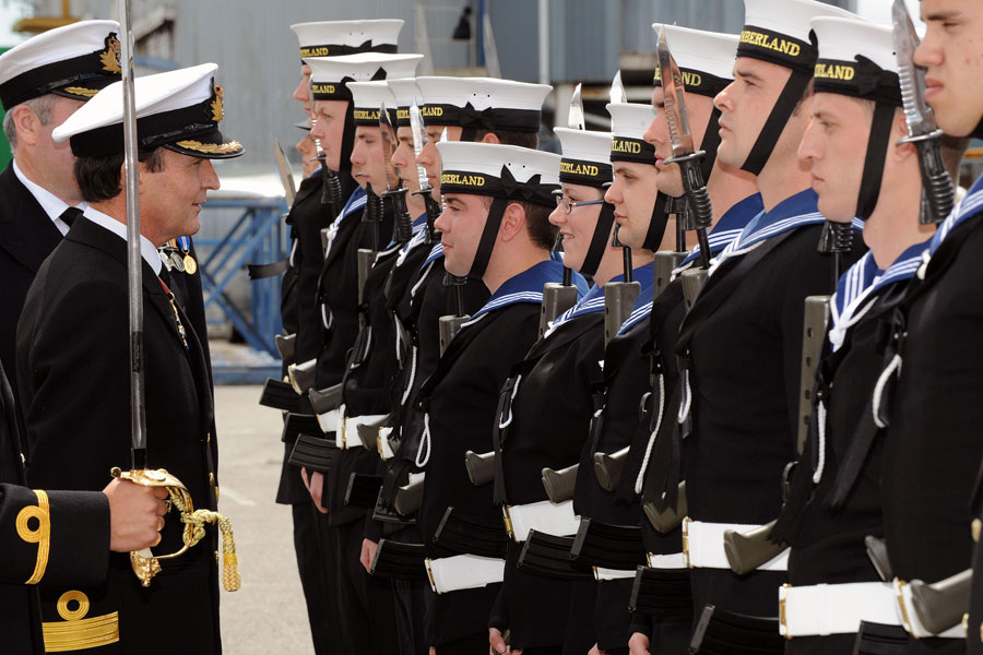 The decommissioning of HMS Cumberland