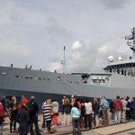 HMS Enterprise Homecoming