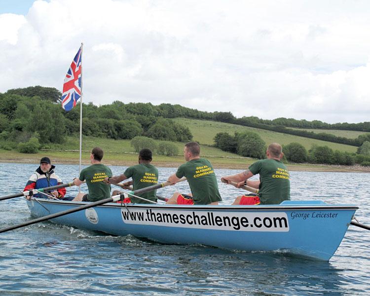 Royal Marines Thames Challenge