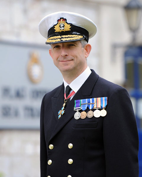 Rear Admiral Clive Johnstone