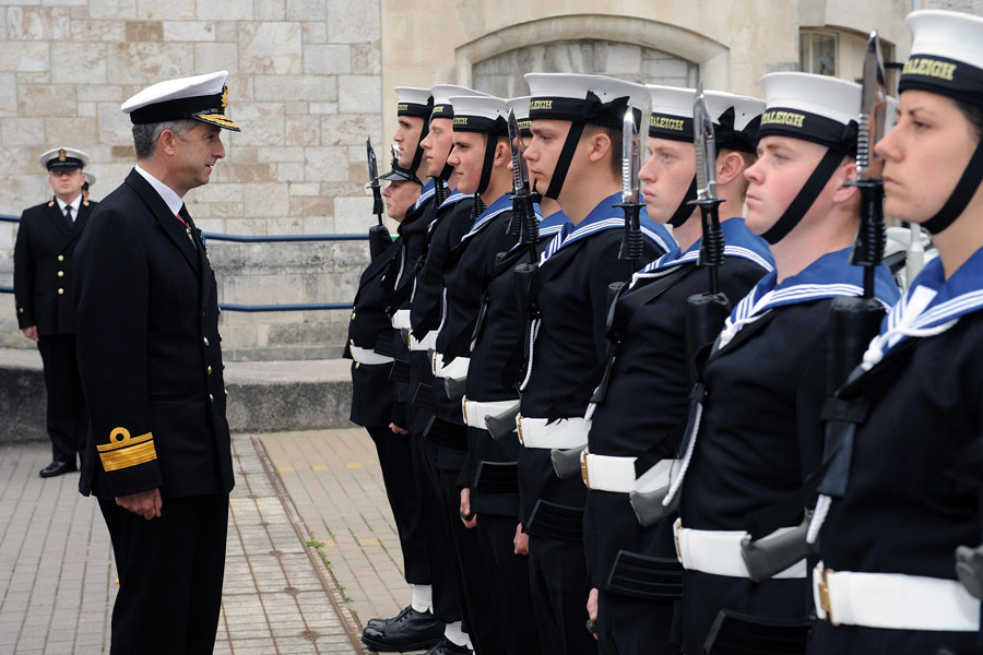 Royal Navy welcomes new Head of Training