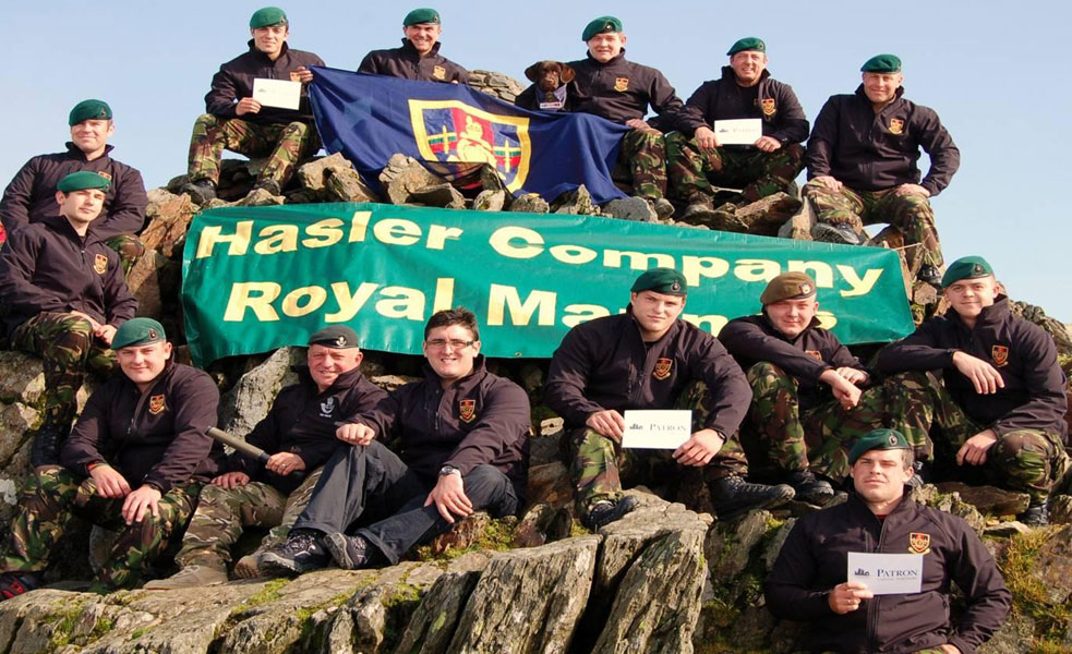 Hasler Company Snowdon walk 2011