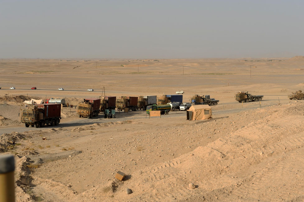 Combat Logistics Patrol from Bastion to Olette