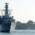 Royal Navy frigate HMS Monmouth