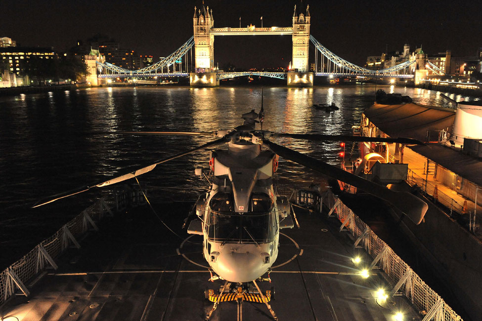 HMS Sutherland in London