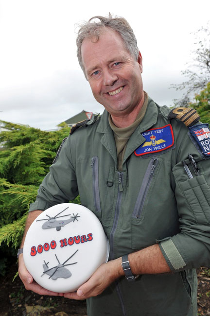 Thousands of hours in the air at RNAS Culdrose