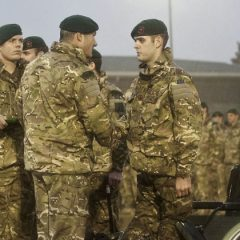 42 Commando Royal Marines receive Afghanistan medals
