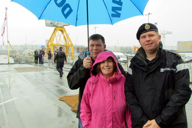 HMS Portland Families Day