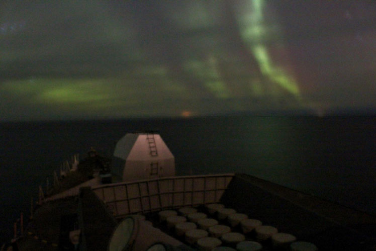 HMS Sutherland Northern Lights