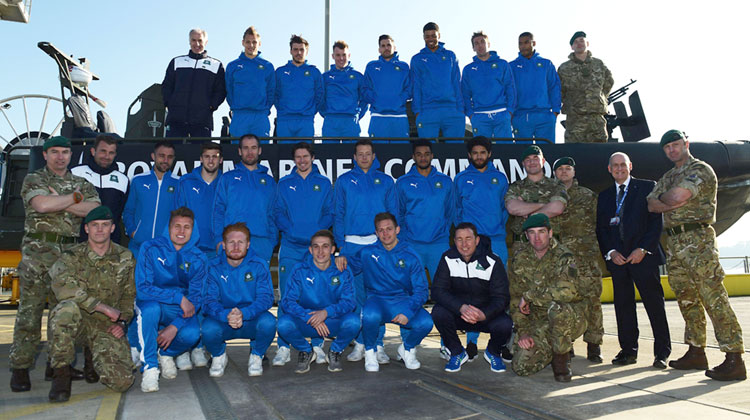 Royal Marines Plymouth Argyle