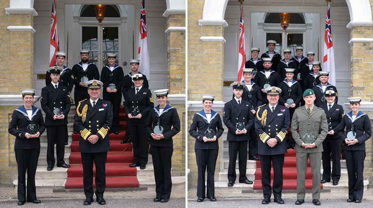 ever Royal Navy apprentices awards ceremony