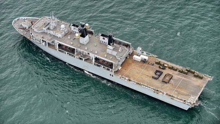 HMS Bulwark QE90 Tribute