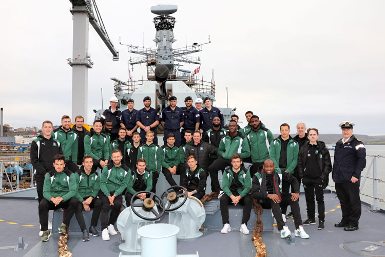 PAFC and HMS Argyle