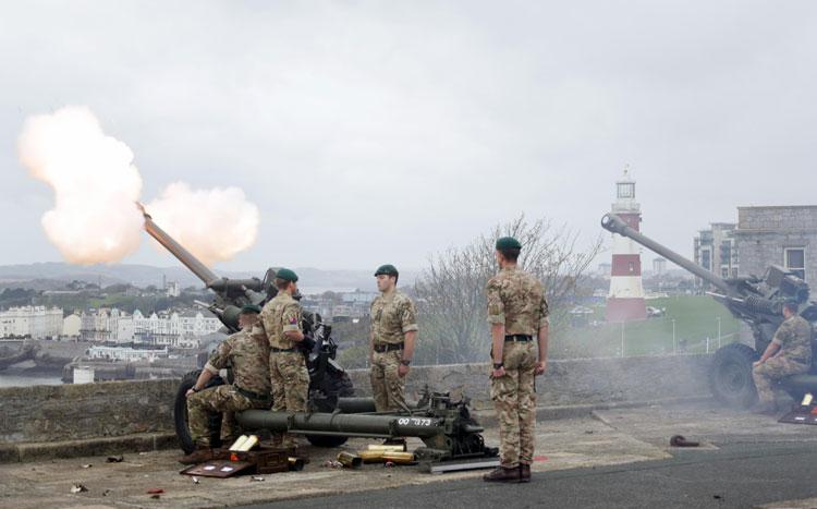 Citadel 21-gun salute
