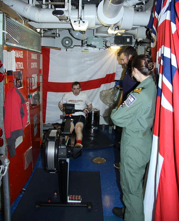 HMS Somerset Rowathon