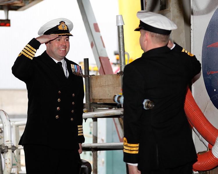 Captain Tim Neild