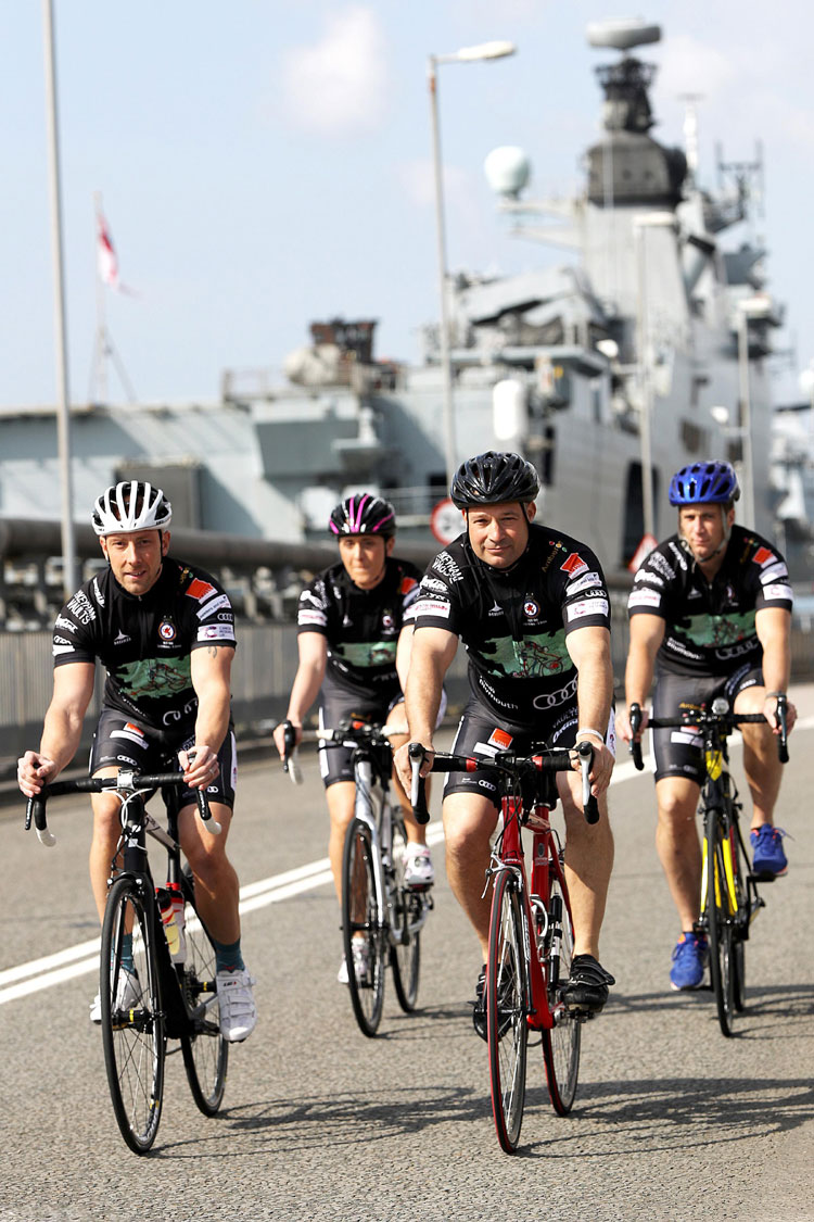 Twickenham Navy Cycle Ride