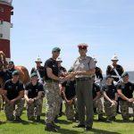 Royal Marines charity endurance relay