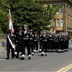 HMS Ocean Freedom of the City of Sunderland