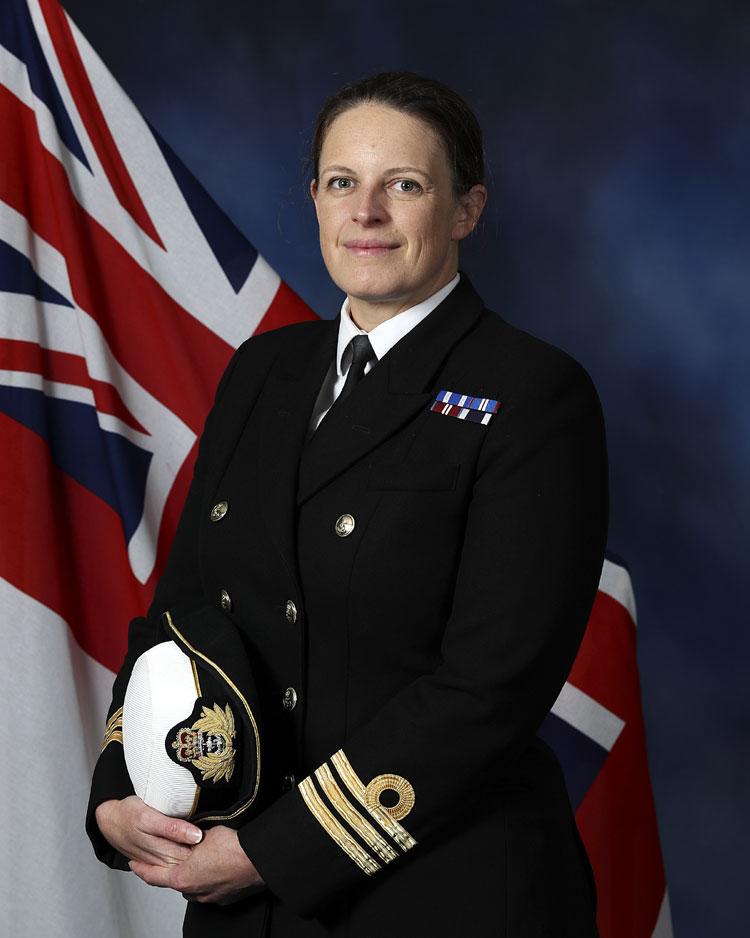 Commander Alexandra Pollard