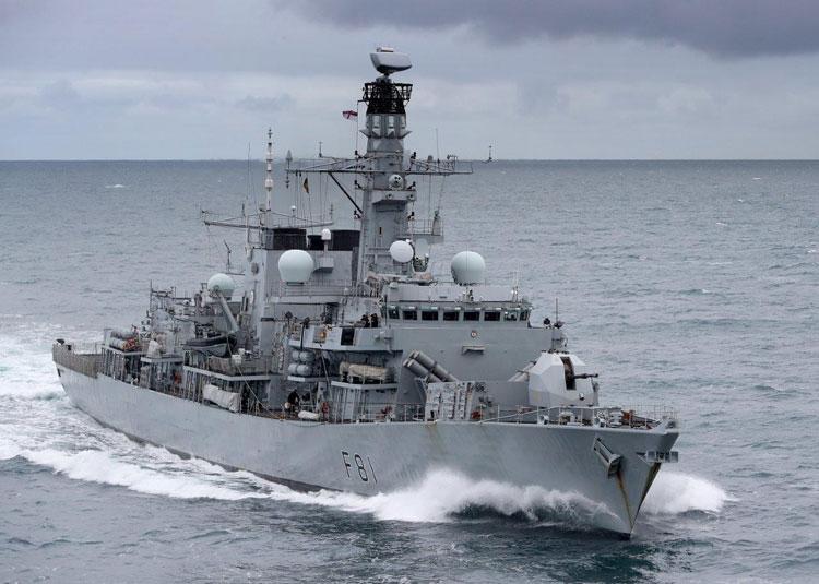 Type 23 frigate HMS Sutherland