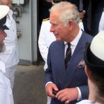 Prince Charles joins HMS Echo