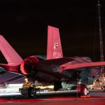 F-35 jets conduct first night-time landings on HMS Queen Elizabeth