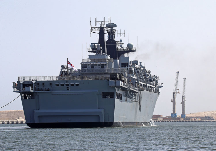 HMS Albion