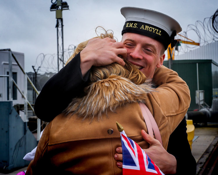 HMS Argyll returns from nine-month Pacific mission