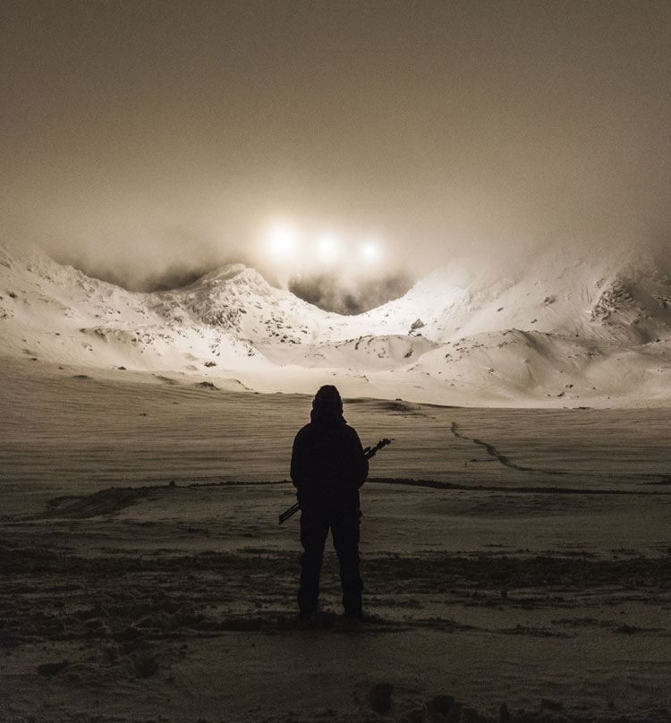 Royal Marines mortars light up Arctic night sky on exercise in Norway