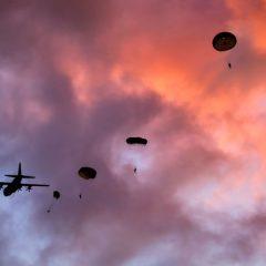 Royal Marines leap into Denmark