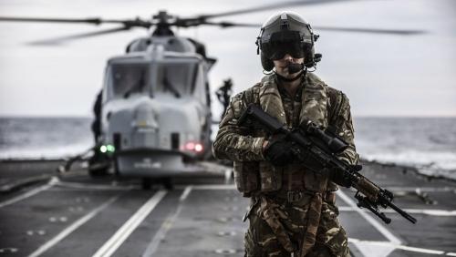 HMS Sutherland - Japan to Korea transit.