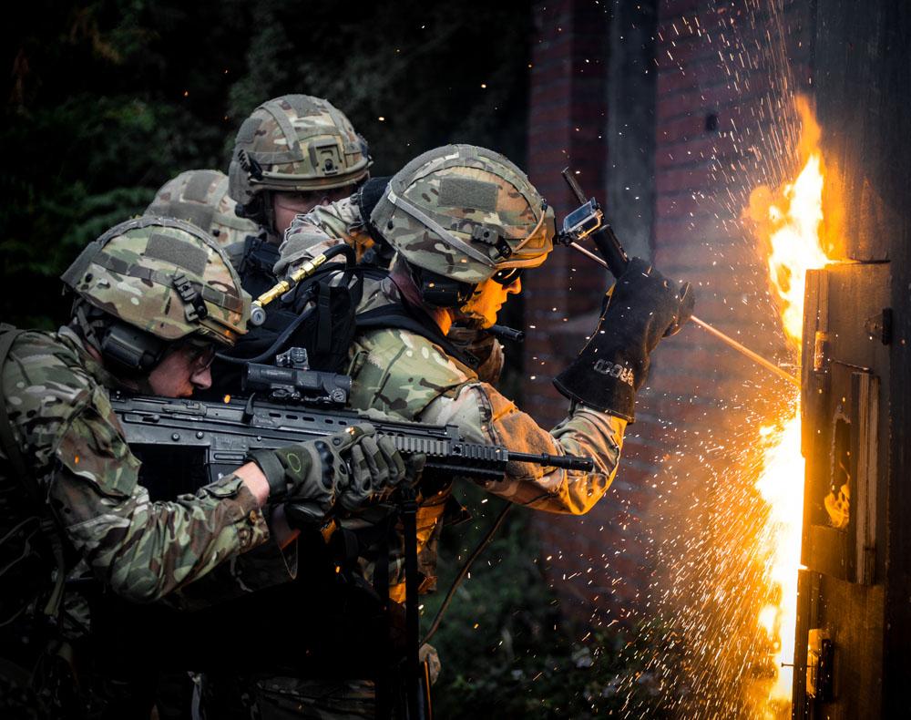 Assault Engineer Training