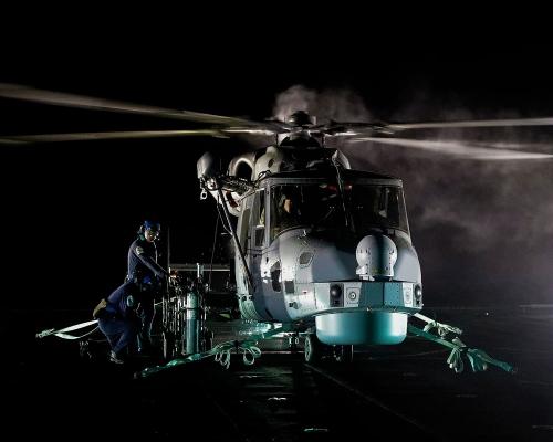 Wildcat- Roughcut on board HMS Diamond