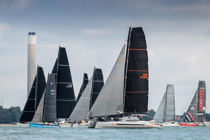 Simon Baker's Dazcat 1495 Hissy Fit will be competing again in the Rolex Fastnet Race