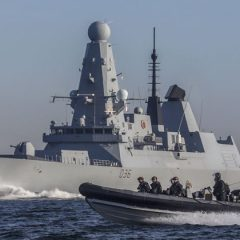 Type 45 destroyer HMS Defender