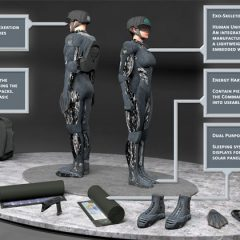 Britain's brightest brains design bionic commandos to fight future wars